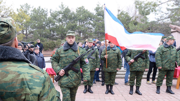 Russian Forces in Ukraine Possible Invasion
