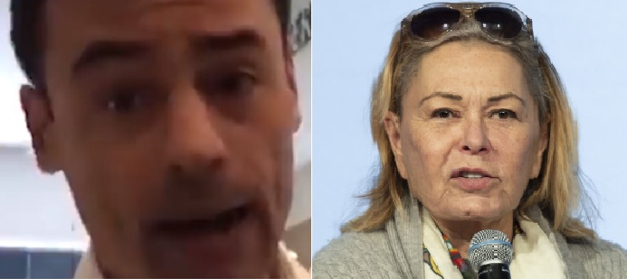 "Roseanne Bar and Aaron Schlossberg After Racist Rant Say ""Not me?"""