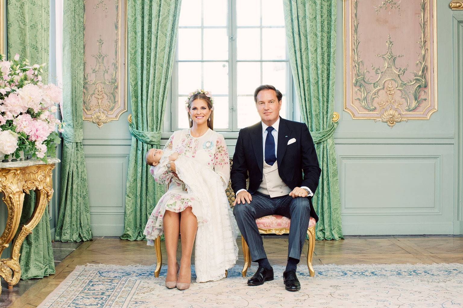 Princess Adrienne of Sweden's Christening Portraits Are Utterly Magical