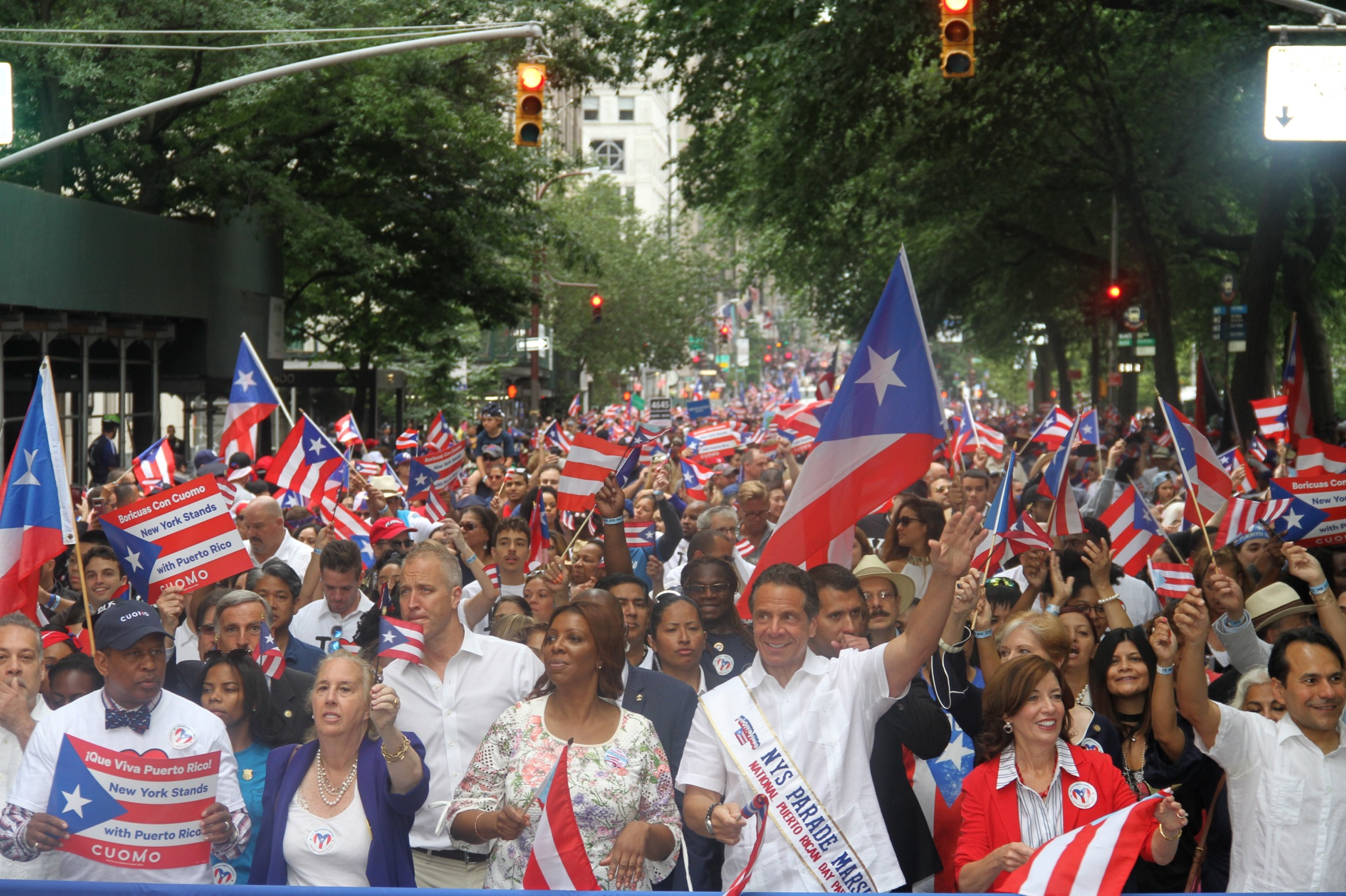 "Puerto Rican Day Parade of 2018 – Had a Hero for ""Americans First!"""