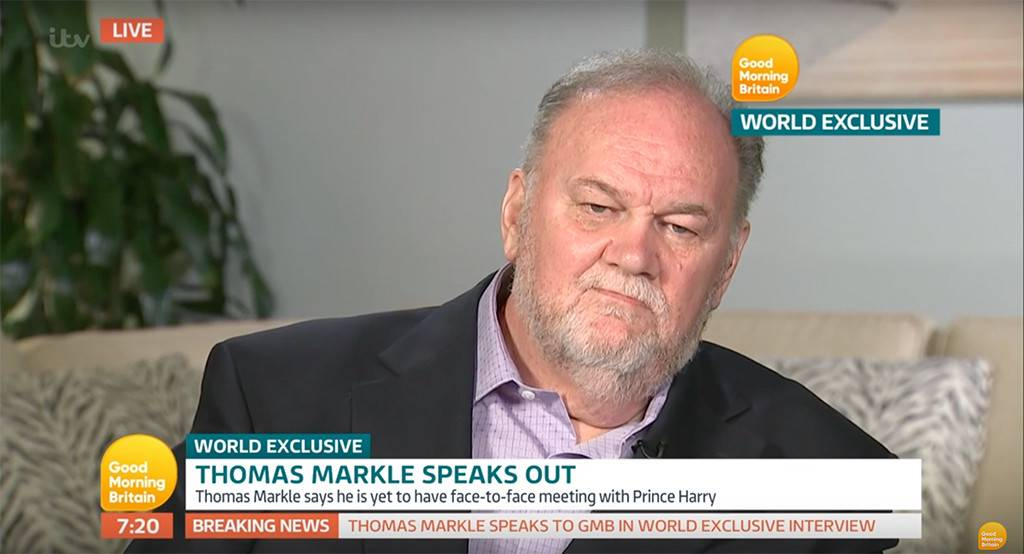 Meghan Markle's Dad Talks Paparazzi Scandal and Her Tears Over Him Missing the Royal Wedding