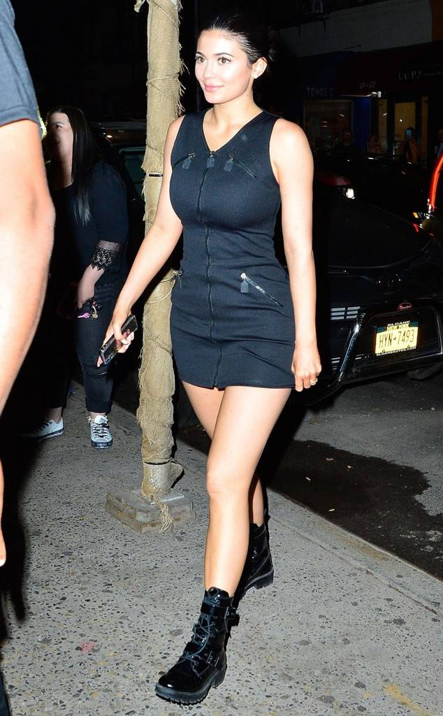 Kylie Jenner and Travis Scott Step Out for Date Night in New York City