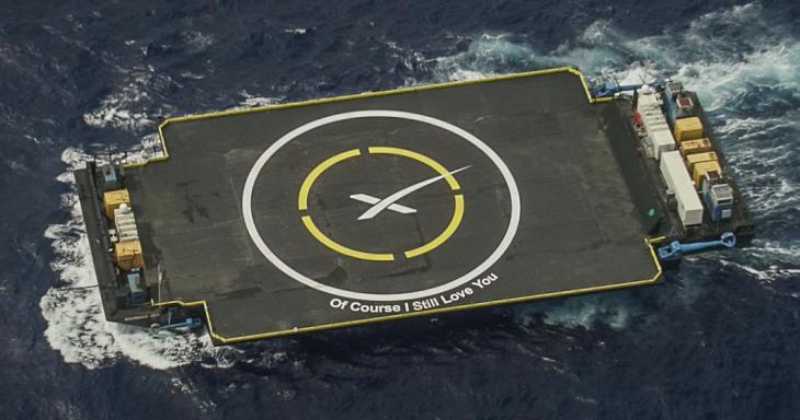 SpaceX lands Falcon 9 booster on Just Read The Instructions drone ship