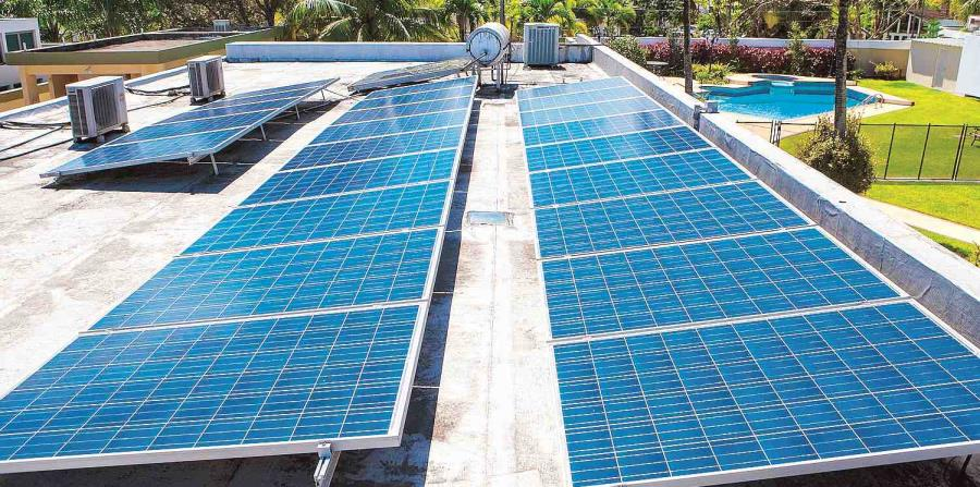 They turn into a project law that promotes solar energy on the Island