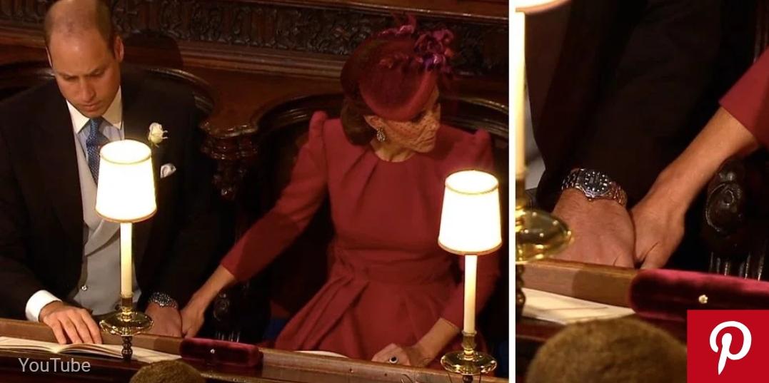 Prince William and Kate Middleton Show Rare PDA at Princess Eugenie's Wedding