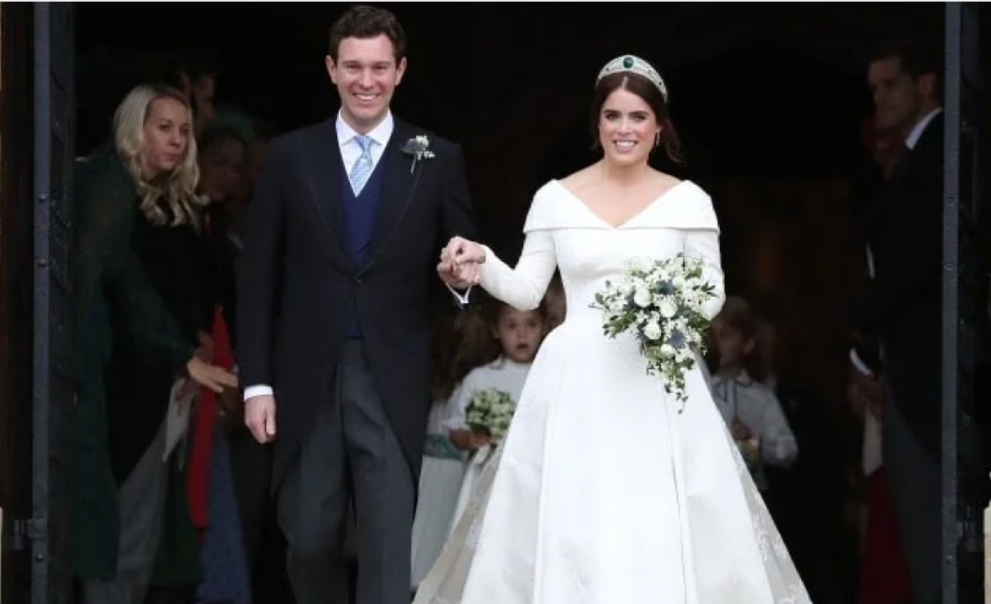 Princess Eugene and Jack Brooksbank Royal Wedding