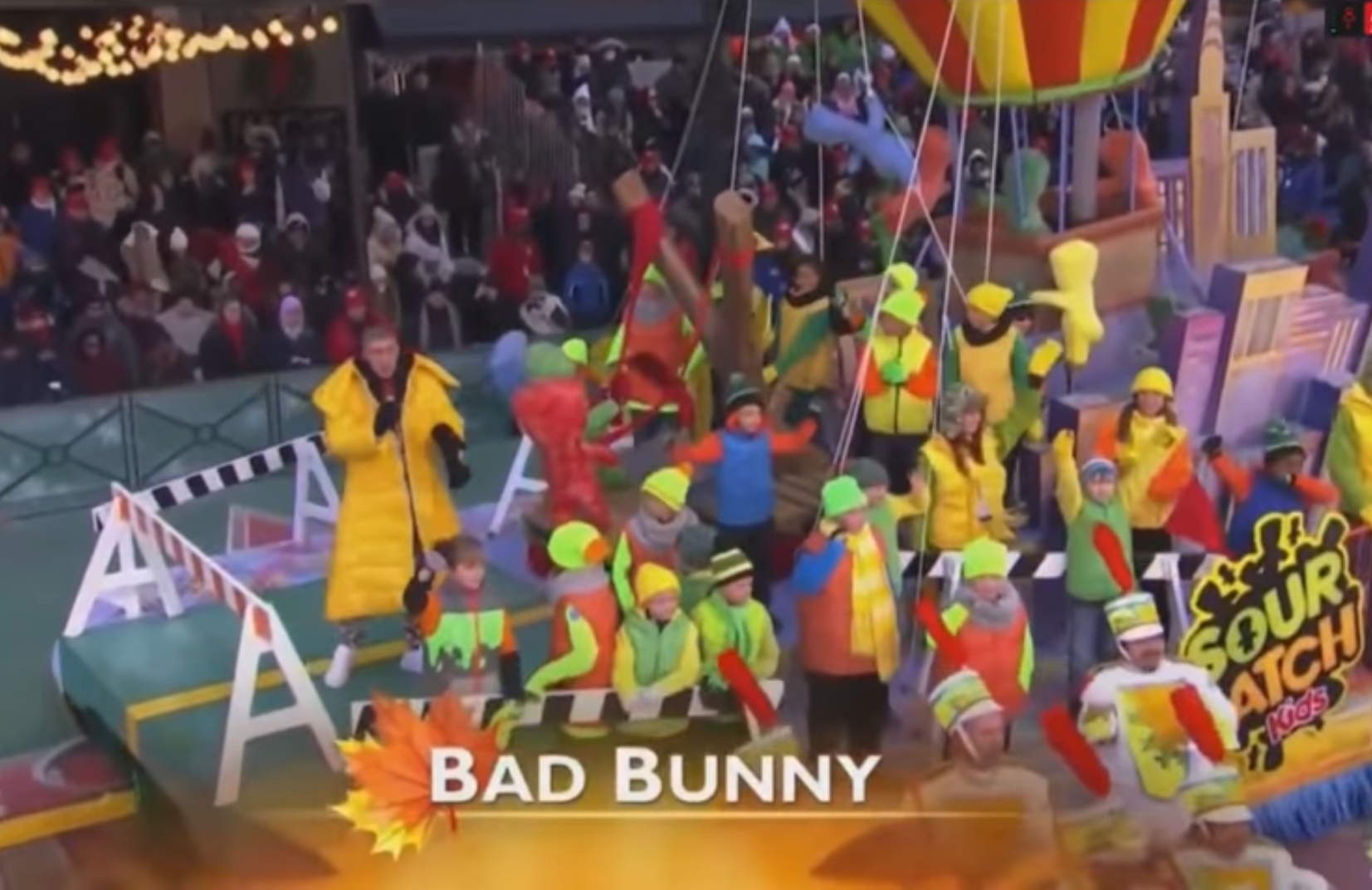 Bad Bunny Stars In The Macy's Day Parade