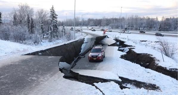 Earthquake in Alaska of 7.0