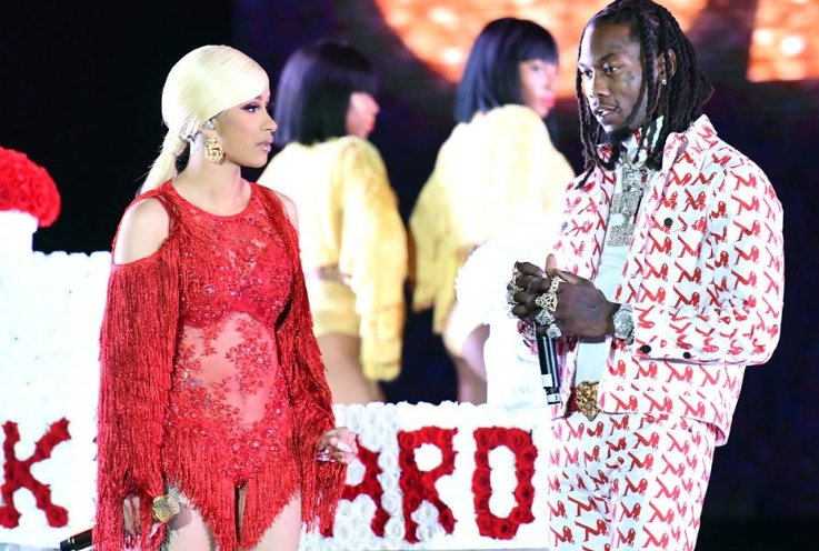 Offset Crashes Cardi B's Show and Begs Her to Take Him Back