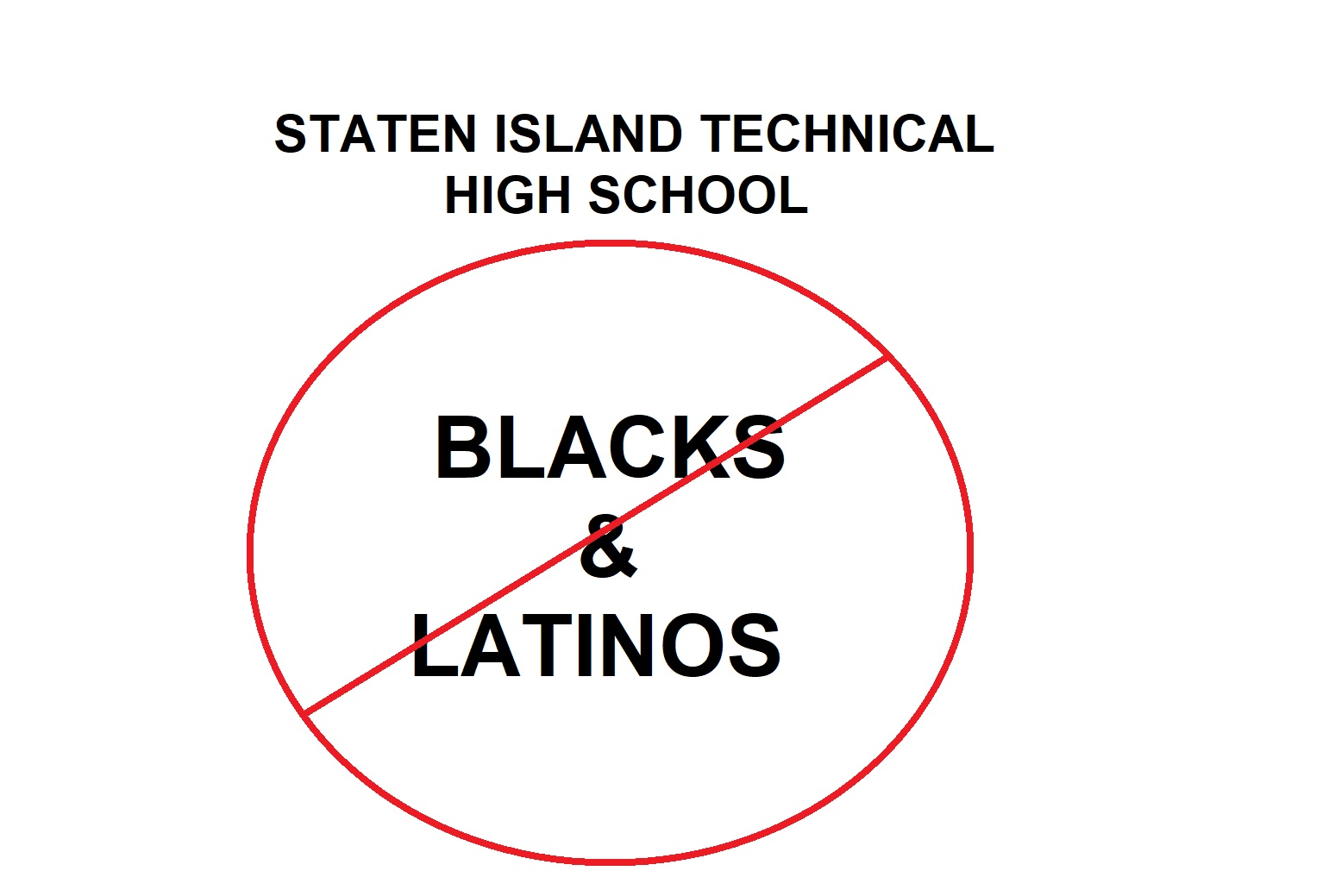 Staten Island Technical HS Accepted Only 1 Black and 11 Hispanic Students