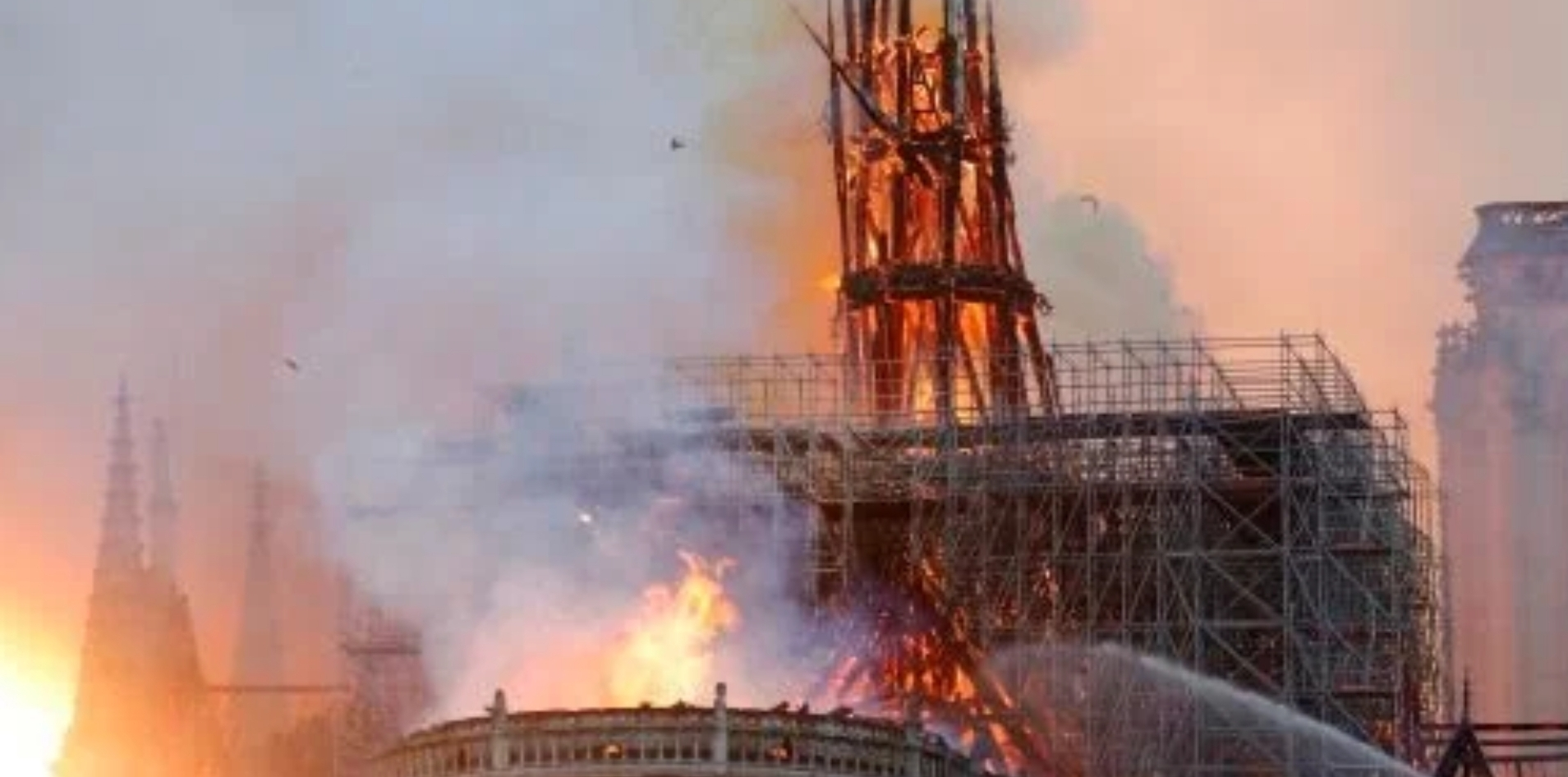 Notre Dame Cathedral Fire Bells Come Down