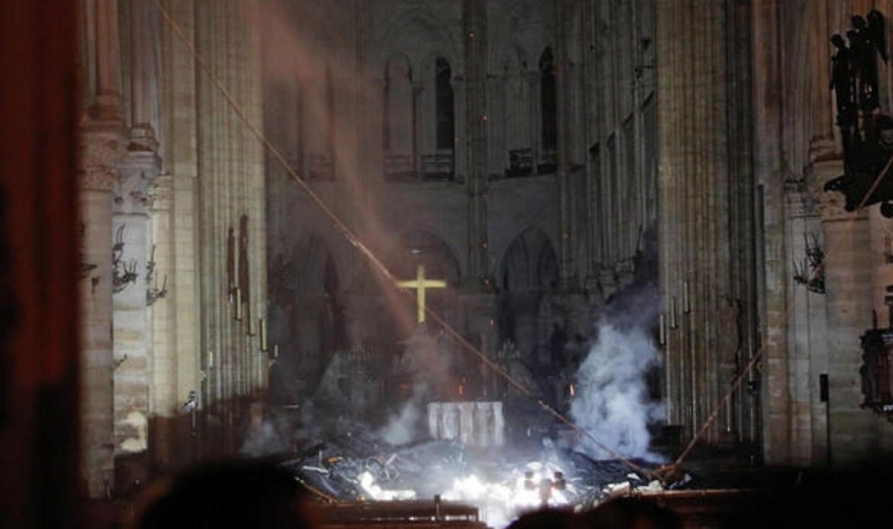Notre Dame Cathedral Fire is Extinguished