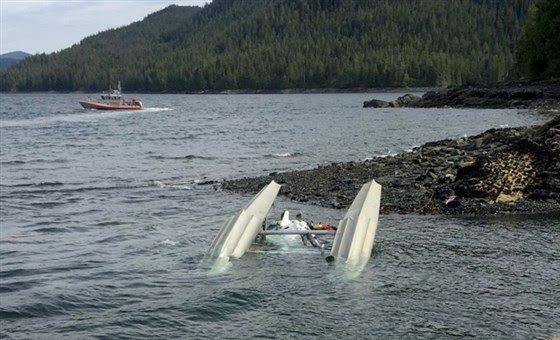 4 dead, 2 missing after floatplanes carrying cruise-goers collide in Alaska