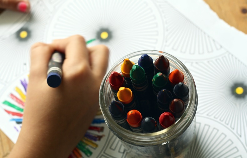 Learning Motor Skills With Coloring Books