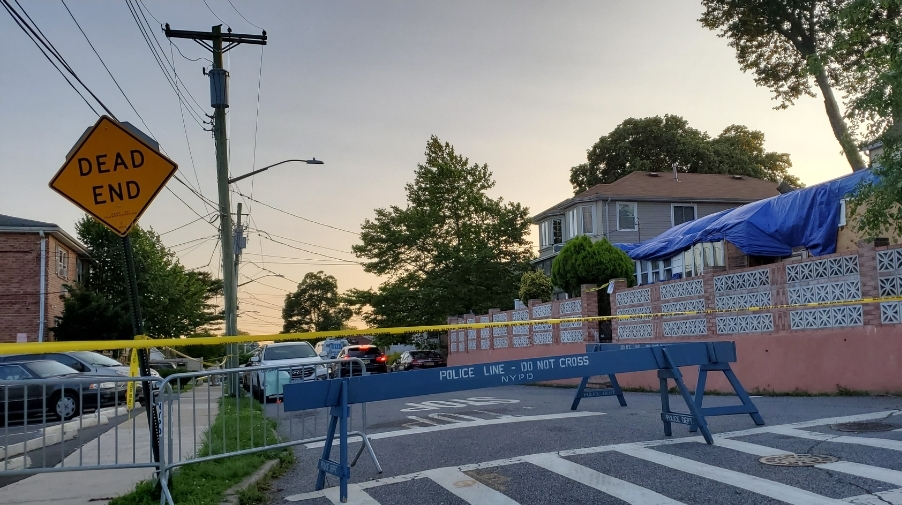 U.S. military service member and her 2 toddler children found dead in New York City home