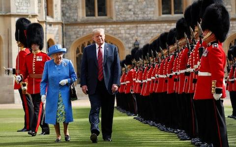 President Trump's UK state visit