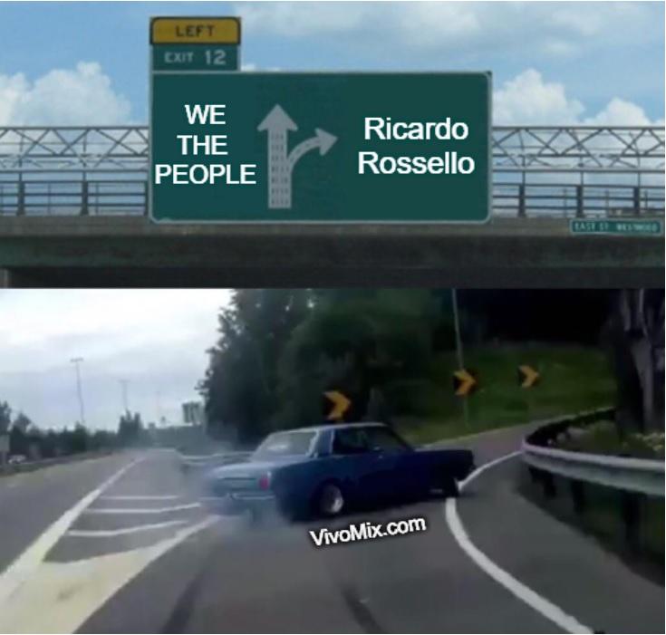 Ricardo Rossello Resign Memes