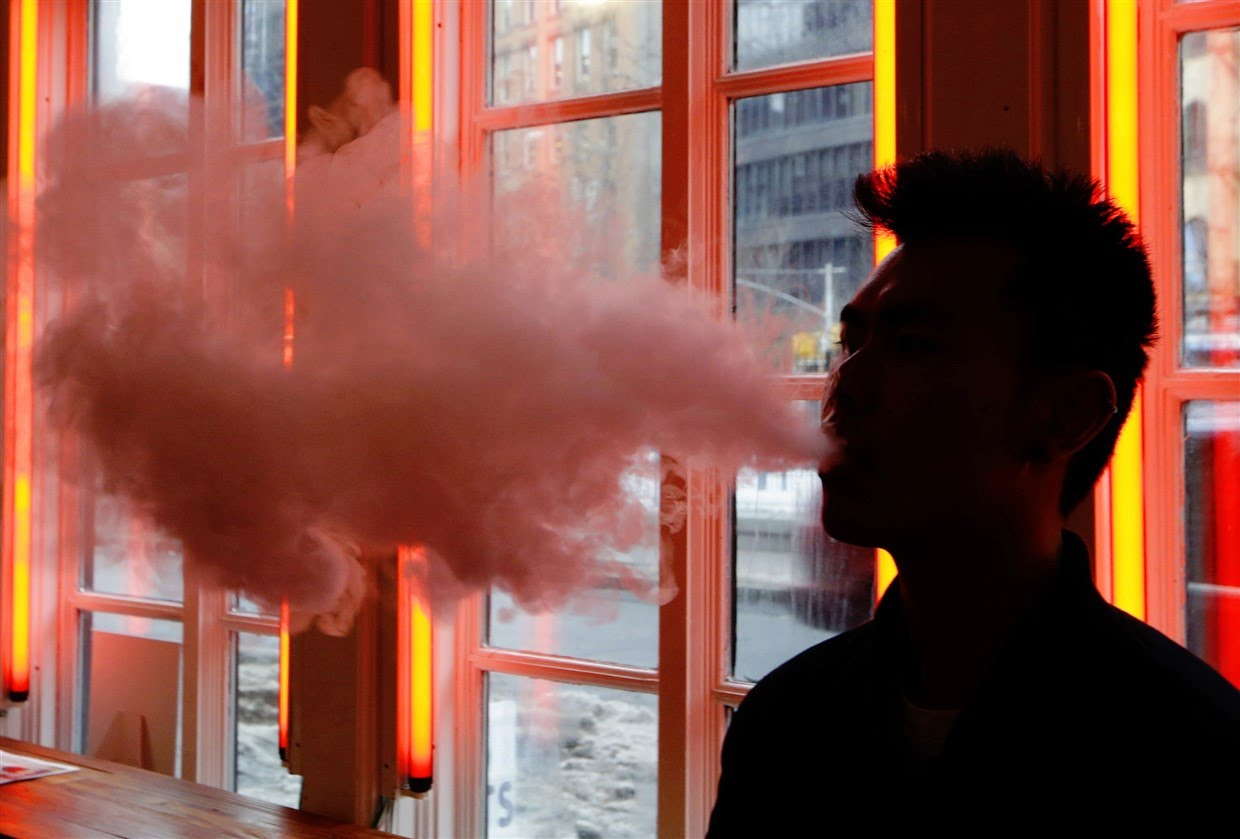 Cases of vaping-linked breathing problems now reported in 8 states
