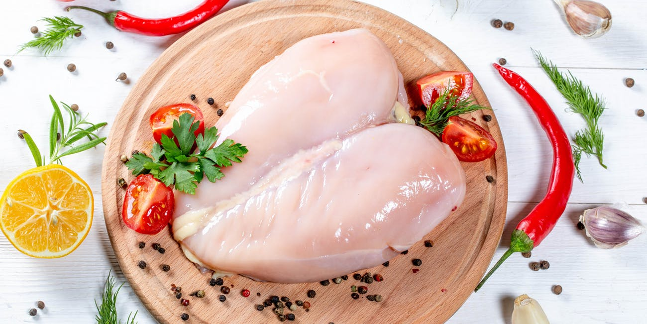 Washing raw chicken won't clean it, but it could make you sick