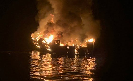 At least 8 dead, dozens unaccounted for after boat catches fire near Santa Cruz Island