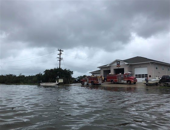 Hundreds stranded on Outer Banks island, 'catastrophic' flooding as Hurricane Dorian moves off coast