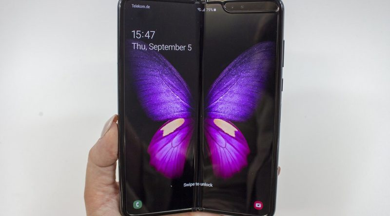Samsung's Galaxy Fold will go on sale in the US this week