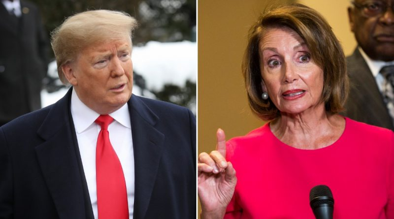 Pelosi announced today the beginning of a trial process against President Trump