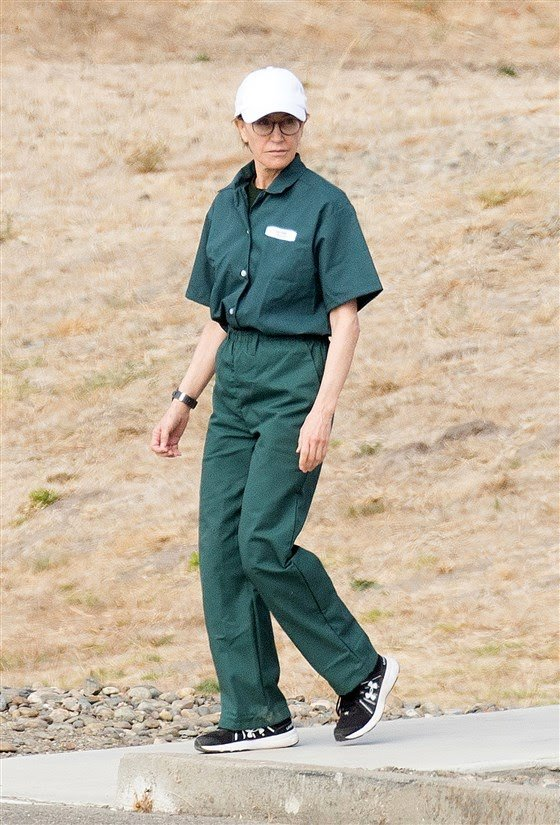 New image emerges of Felicity Huffman in prison