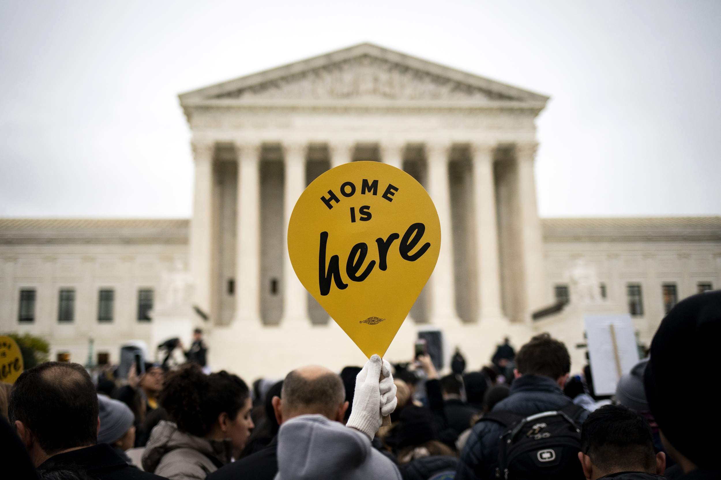 The United States Supreme Court hears the DACA arguments
