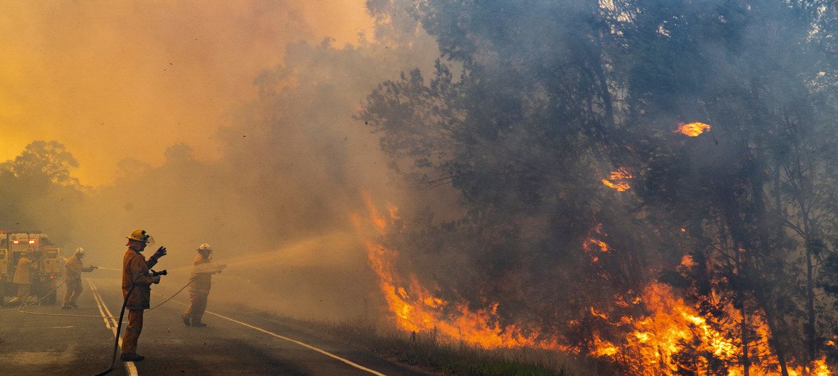 Wildfires in Australia continue to grow and leave four dead