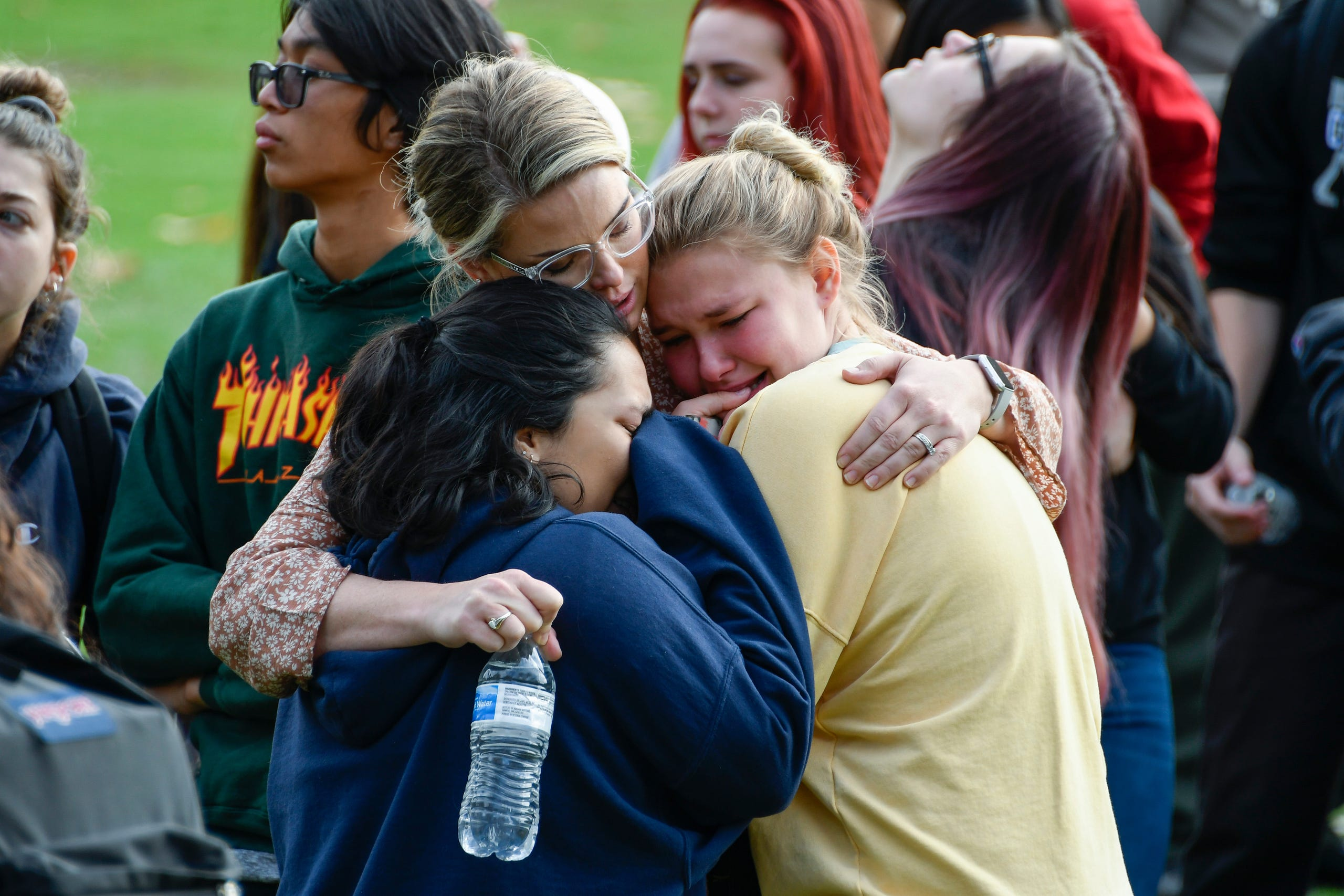 At least one dead and four wounded in a shooting at California high school