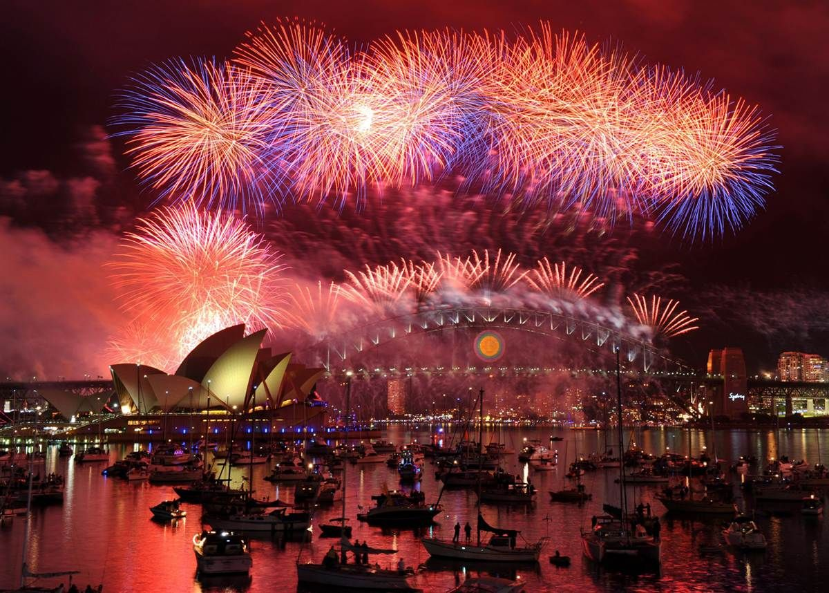 This is how Australia says goodbye to 2019