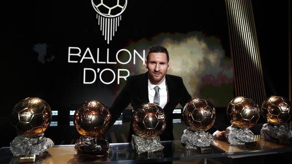 Leo Messi wins his sixth FIFA Ballon d'Or