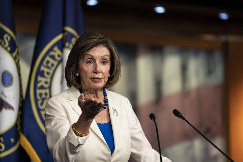 Pelosi announces that Congress will proceed with the formal accusation against Trump