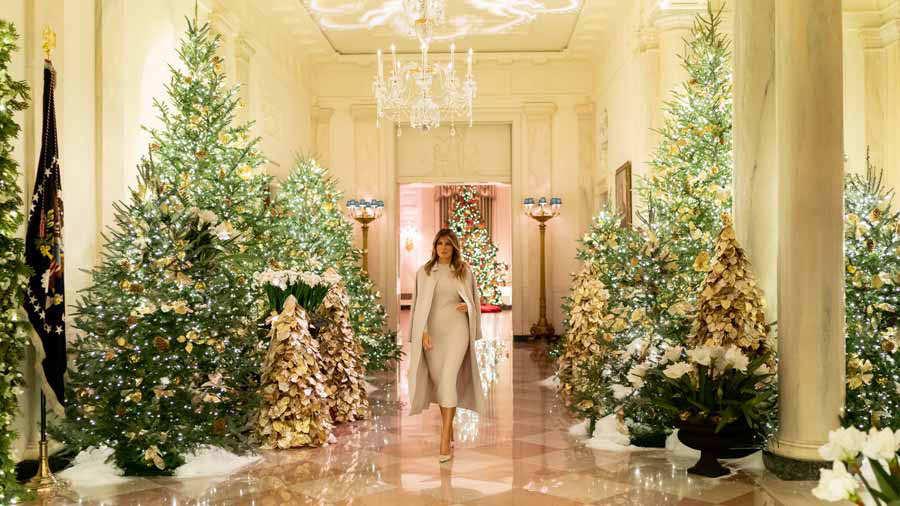 Melania Trump reveals the new White House christmas theme