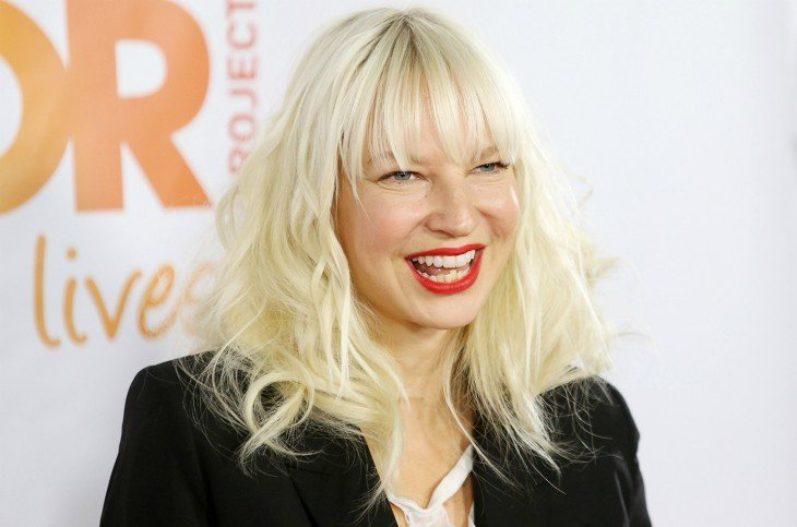 The noble action that singer Sia had in a supermarket