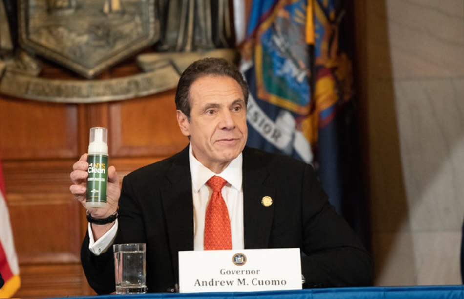 Governor Cuomo New York State Hand Sanitizer