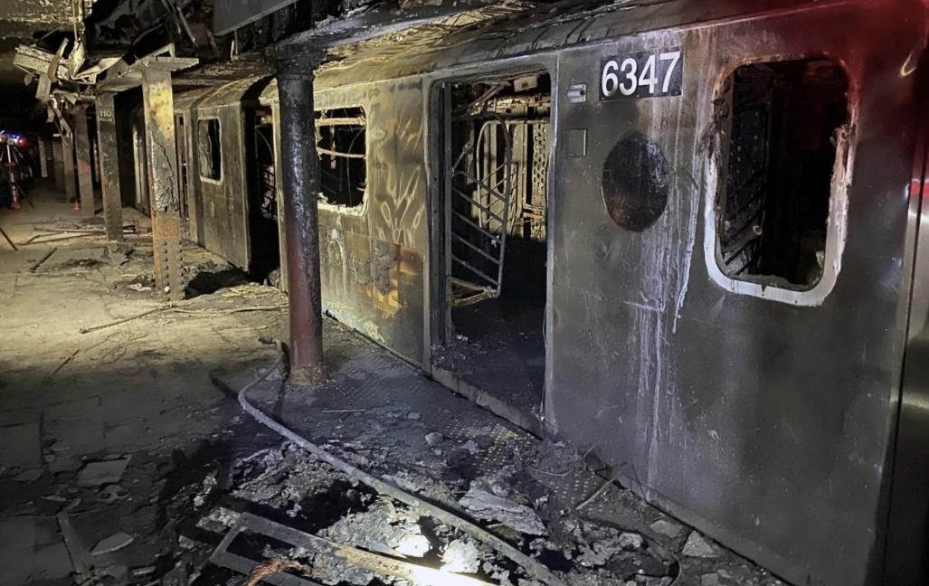NYC Train Fire Cause Motorman Death