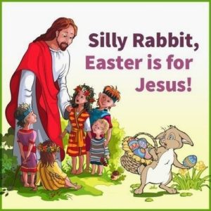 Jesus and the Easter Bunny - vivomix