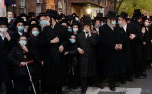 Jews in Williamsburg Brooklyn disobey social distance regulation due to the coronavirus - vivomix