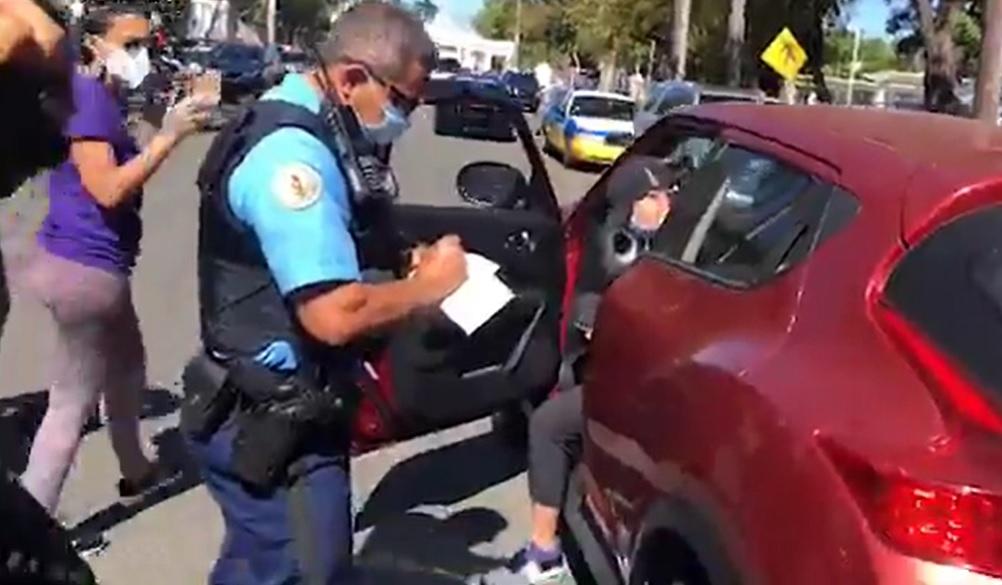 Puerto Rico Police Silence Protest Against Coronavirus Testing Corruption