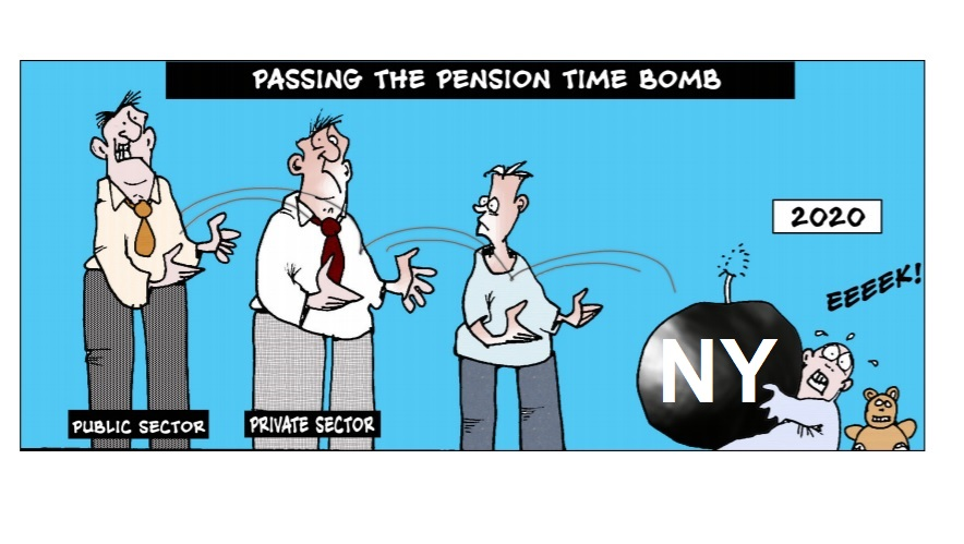 New York Pension Bomb or Bankruptcy