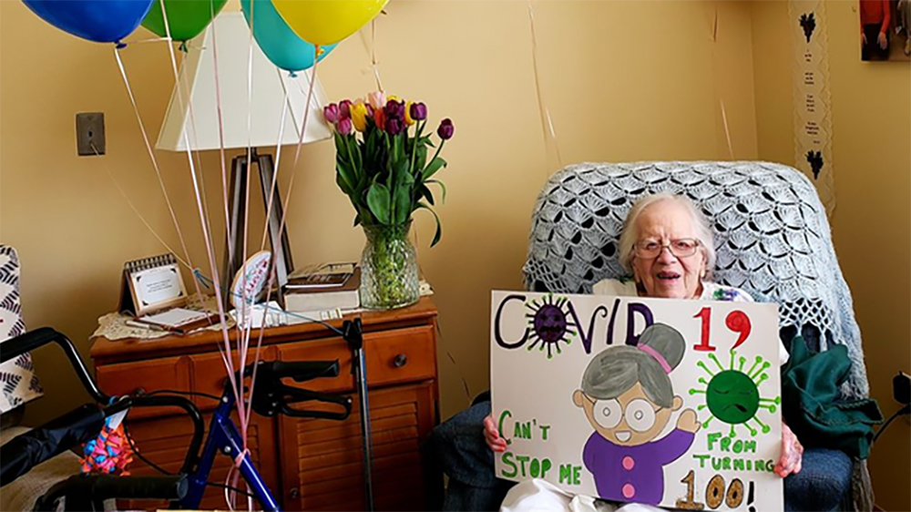 Indiana woman marks 100th birthday after surviving COVID-19, beating cancer and living through WWII