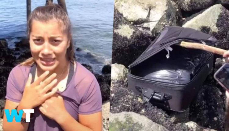 TikTok Teens Find A Suitcase Of HUMAN Remains Through Randonautica App