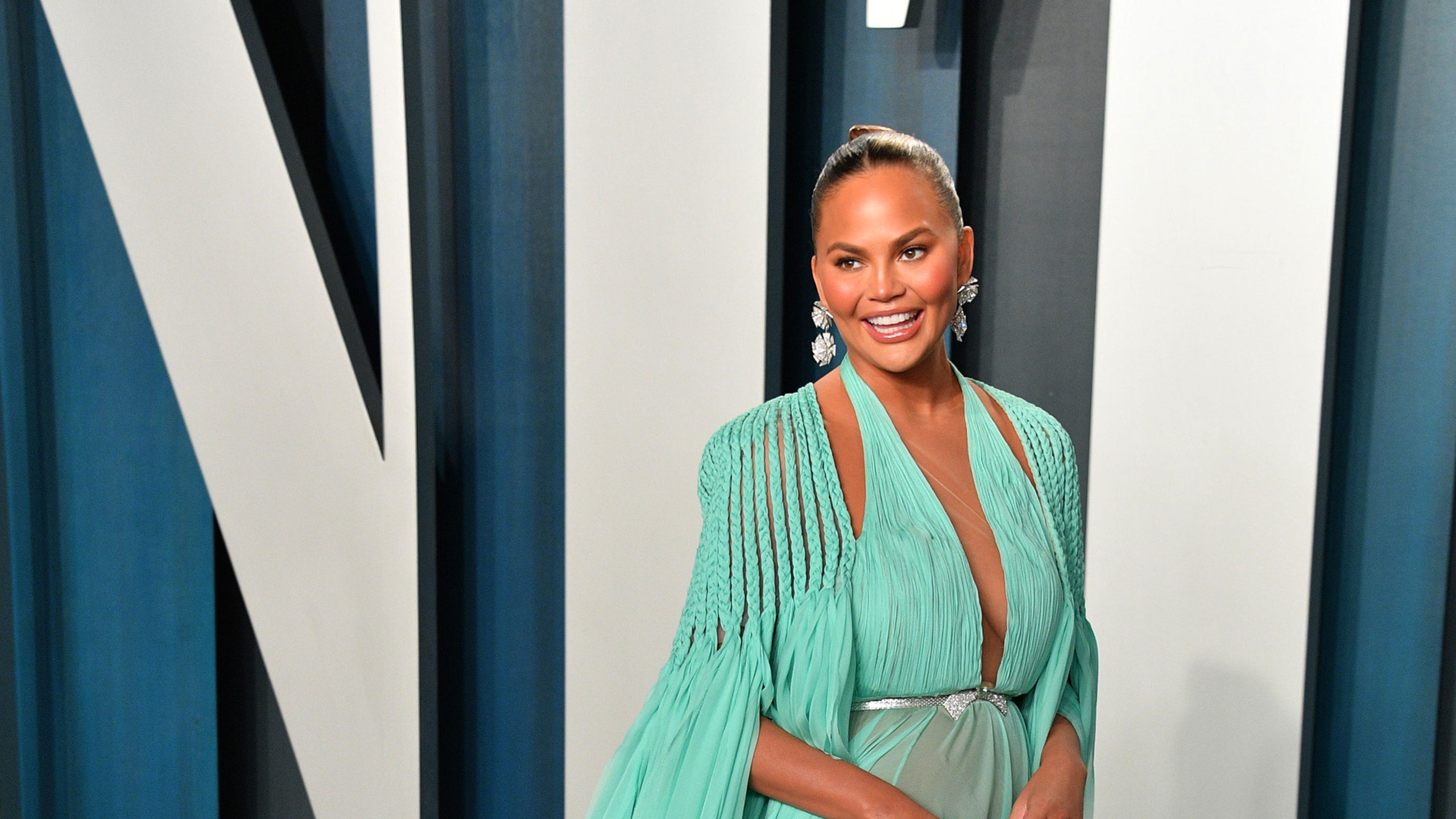 'Worried for my family': Chrissy Teigen blocks 1M Twitter accounts linking her to Jeffrey Epstein
