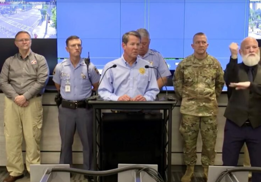 Georgia Declares State of Emergency, Authorizes 1,000 Troops due to Rise in Crime