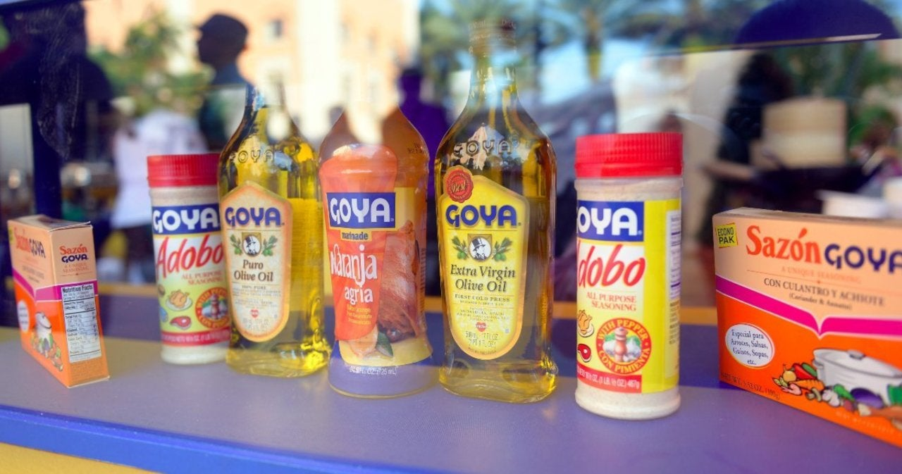 Goya Foods boycott takes off after its CEO praises Trump