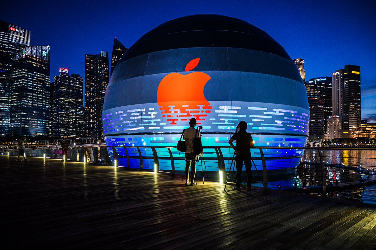 World's first floating Apple store to open 'soon' at Marina Bay Sands