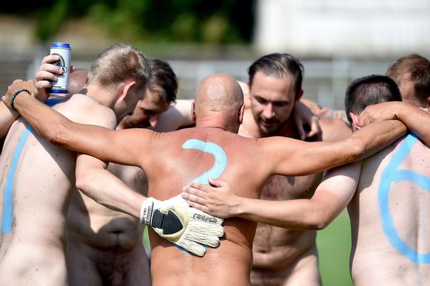 German Football Nude