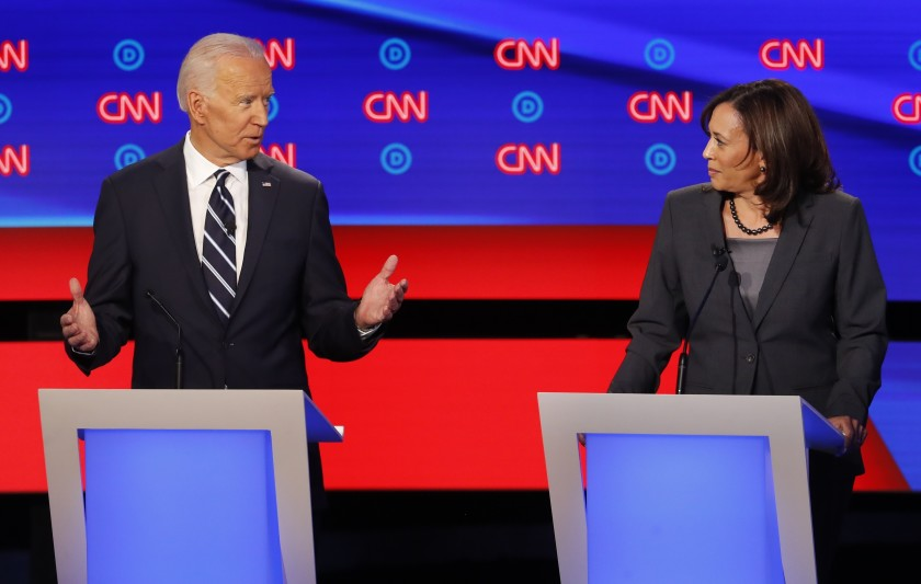 Joe Biden picks Kamala Harris for Vice President